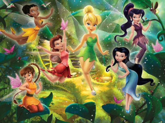 Você conhece o universo Disney Fadas?