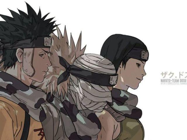Naruto: Quem você seria do Time Dosu?