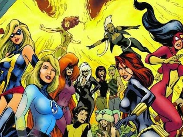 Você seria qual heroína da Marvel?