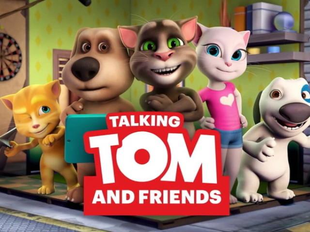 Quem você seria em talking tom e amigos ??