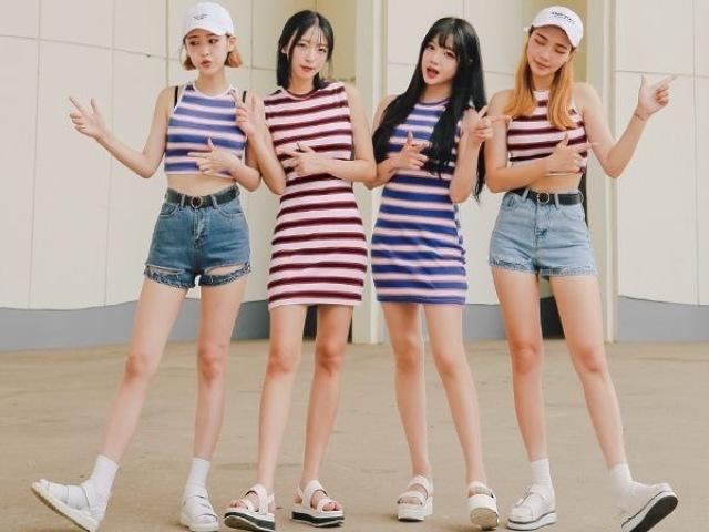 Crie seu grupo de K-pop
