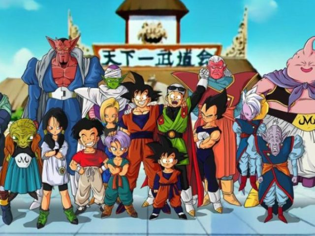 Acerte o nome de todos os personagens de dragon ball.