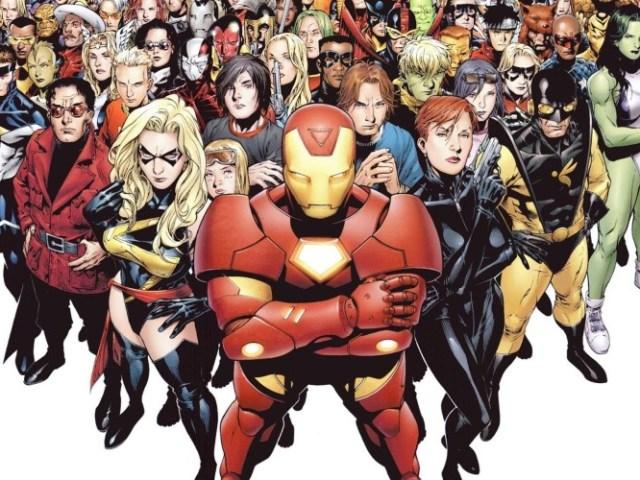 Você conhece os personagens da Marvel?