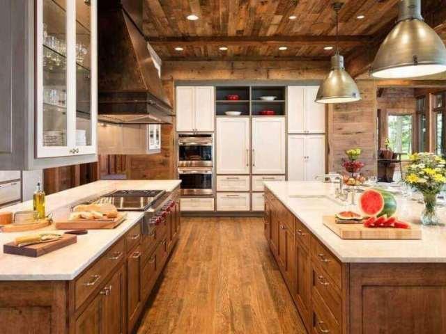 Qual seria a sua cozinha dos sonhos?
