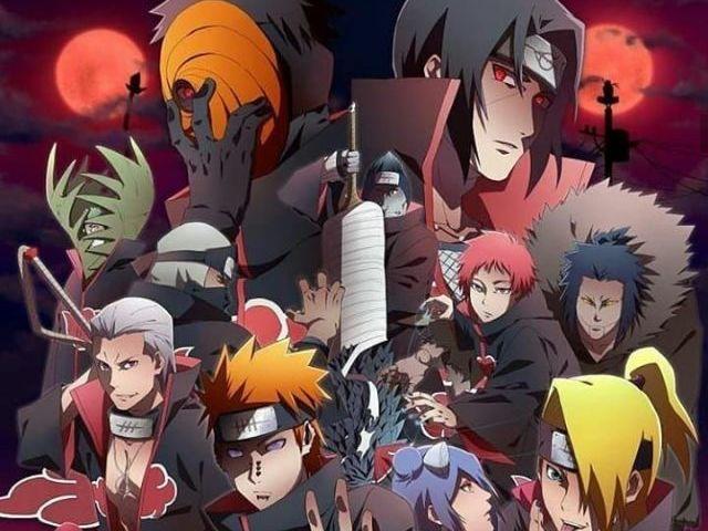 O quanto você sabe sobre a Akatsuki?