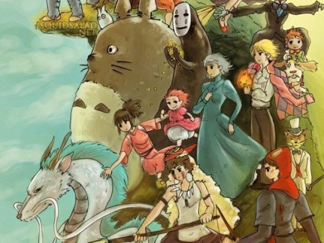 Qual personagem do Studio Ghibli seria seu namorado(a)?