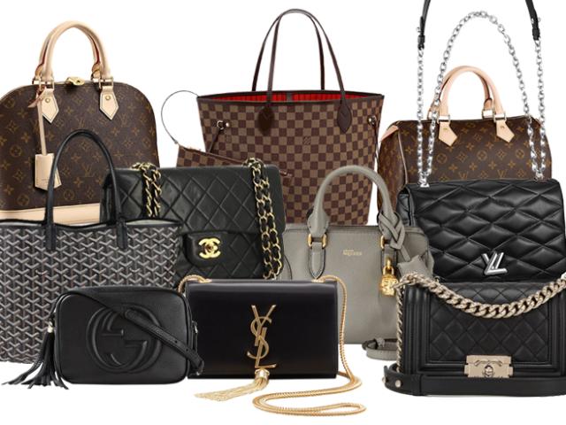Monte seu armário de bolsas
