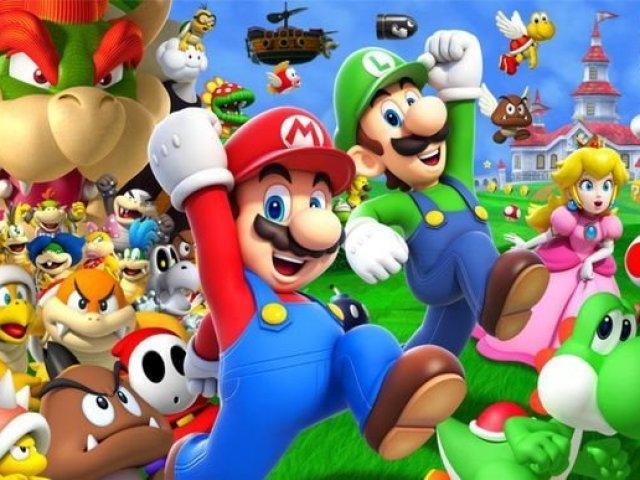 Mario Bros conhecimentos sobre jogos