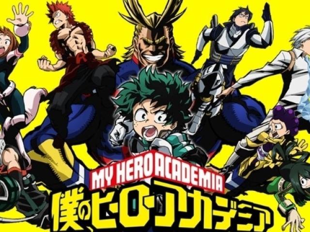 Qual personagem você é em Boku no Hero Academia?