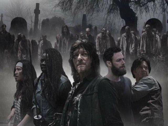 O que você sabe sobre a série The Walking Dead?