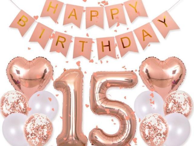 Monte sua festa de 15 anos