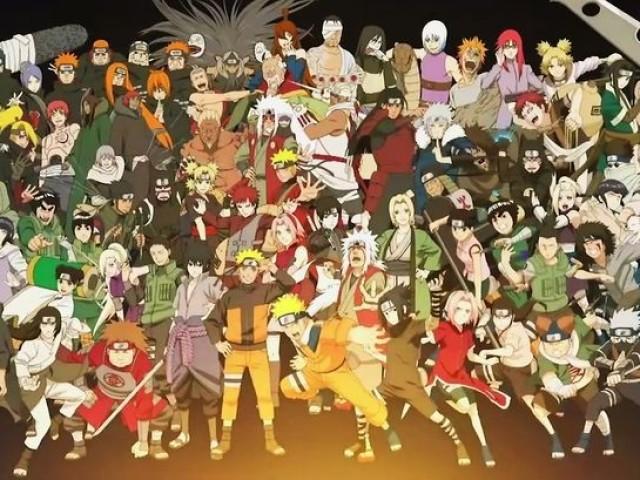 Você consegue adivinhar o nome desses personagens de Naruto?