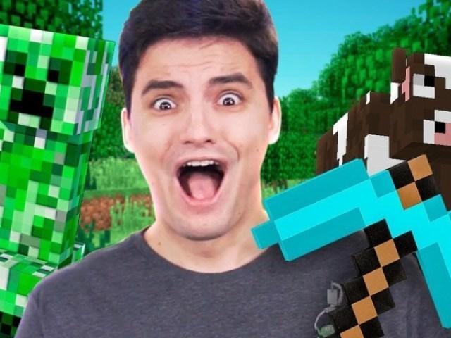 Você é um fã da saga Minecraft do Felipe Neto?