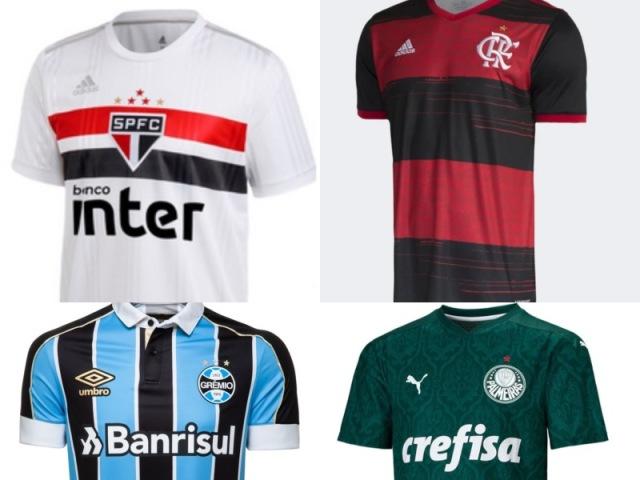 Top 10 camisas mais bonitas do brasileirão 2020