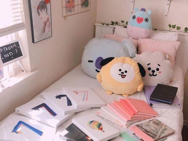 Monte seu quarto estilo BTS