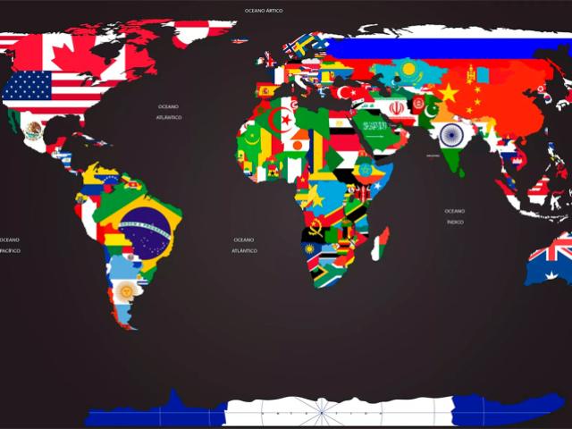 Você sabe o nome do país pela bandeira? (nível HARD)