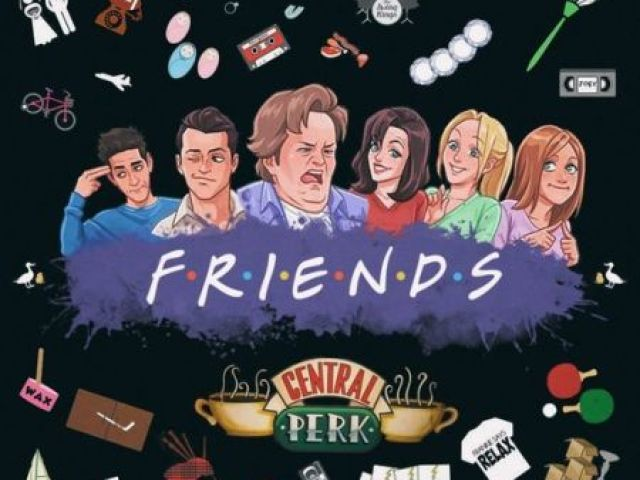 Quem você seria na série FRIENDS?