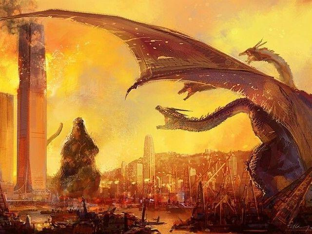 Quem você é mais: King Ghidorah ou Godzilla?