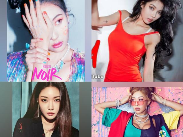 Você é mais Chungha, Hyuna, Sunmi ou Jessi? 🌈🦋