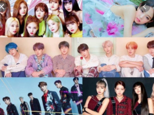 De que grupo de K-pop é esse idol?