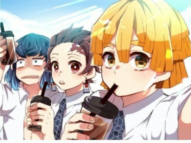 《Quiz》Entre inosuke, tanjiro e zenitsu...com qual você namoraria?