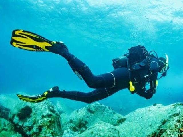 Esportes Radicais e de Aventura - Mergulho