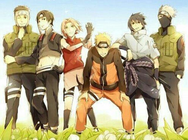 Quem é Você no Time 7 em Naruto?