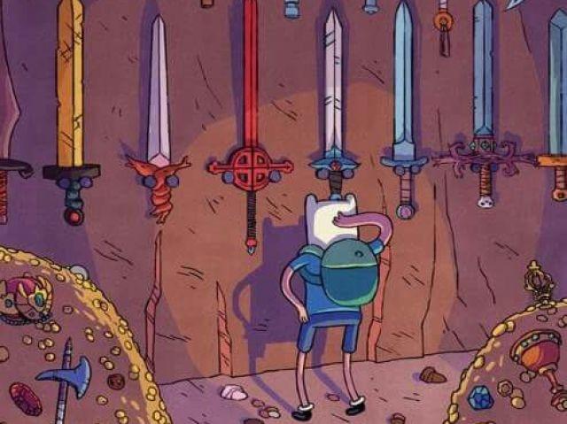 Que espada do Finn você teria no Hora de Aventura?