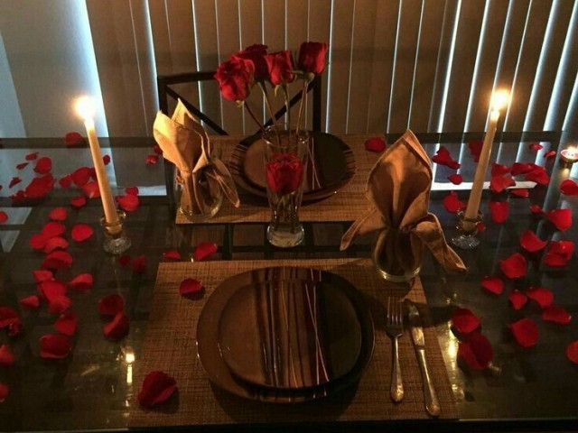 Jantar romântico 😍❤