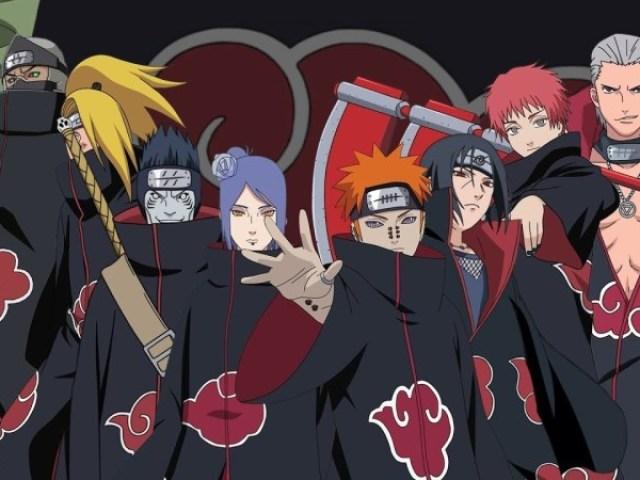 Quem você é da Akatsuki?
