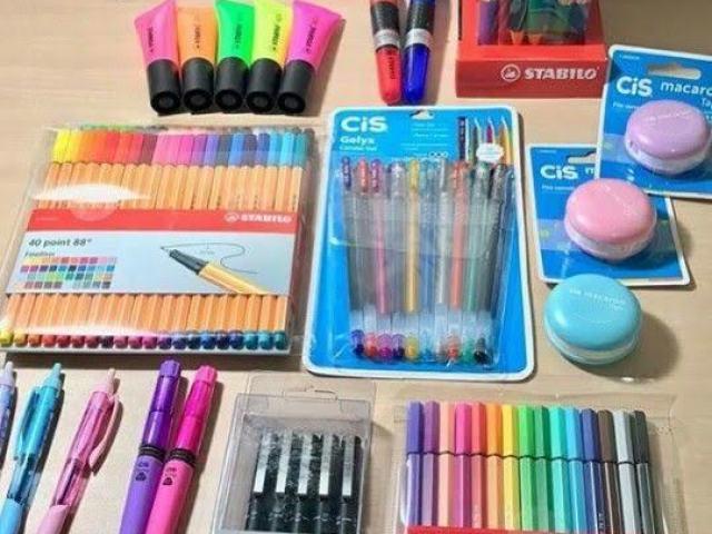 Escolha seu material escolar/seu primeiro dia de aula