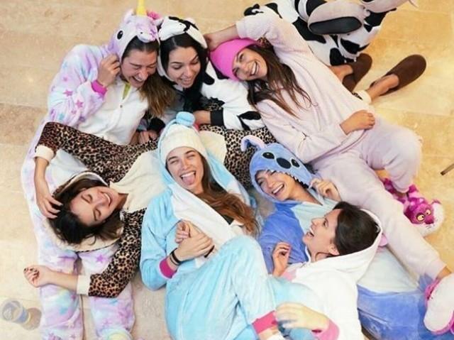 Crie sua festa do pijama