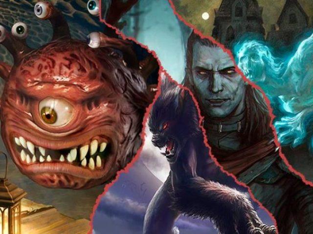 Que monstro de D&D você seria?