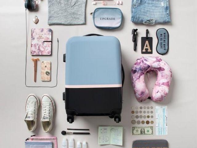 Monte sua mala para viajar