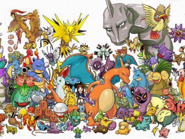 Adivinhe qual é o Pokémon!
