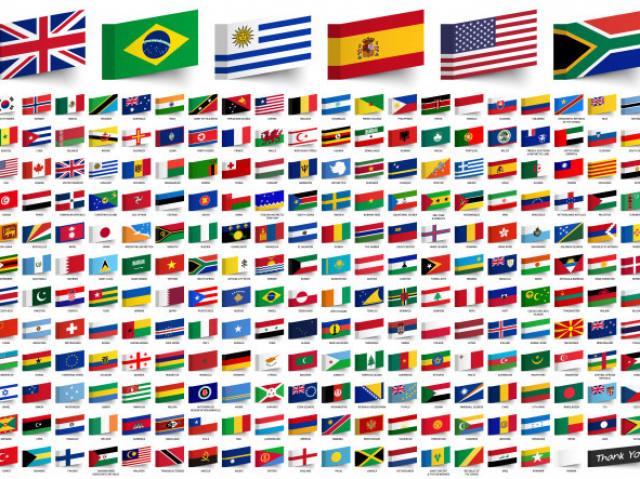 Adivinhe o país pela bandeira!