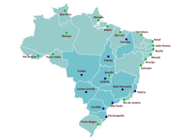 Países e suas capitais