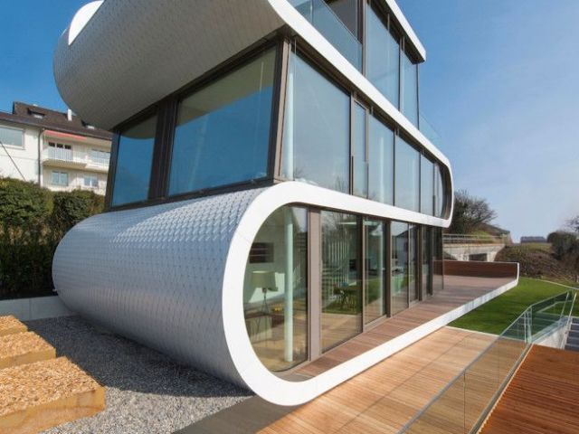 Monte sua casa exótica ou futurista