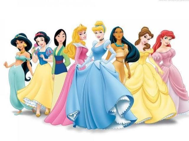 Vc sabe quais são os nomes das princesas da Disney?