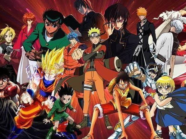 Você conhece esses animes?
