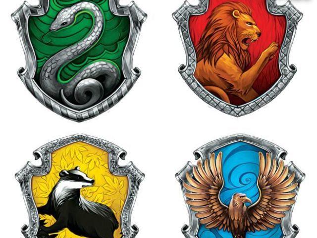 Qual é a sua casa de Hogwarts?