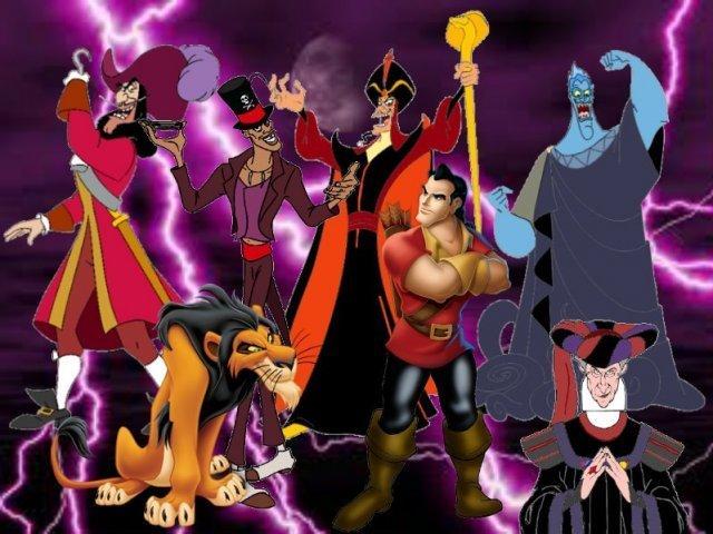 Qual vilão da Disney você seria?