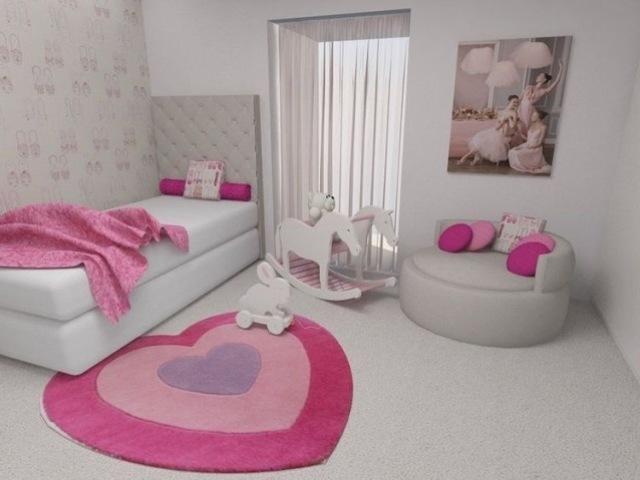 Monte o quarto da sua filha