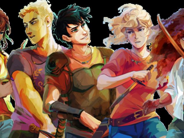 Quem de Heróis do Olimpo você seria?