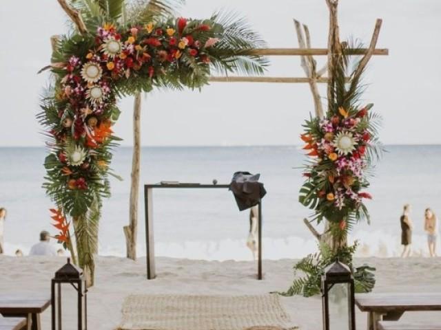 Casamento praiano 💍🐚