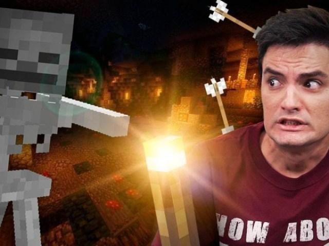 Será que conheces a saga minecraft? Nível-Difícil
