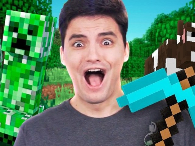 Conhece a saga do Felipe Neto Minecraft?