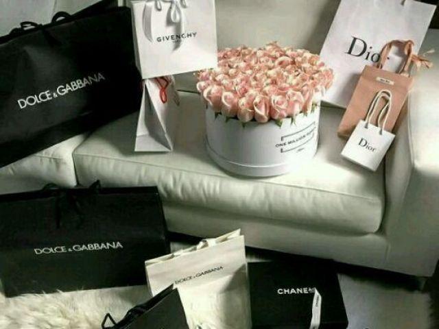 Monte seu dia de compras do sonho!