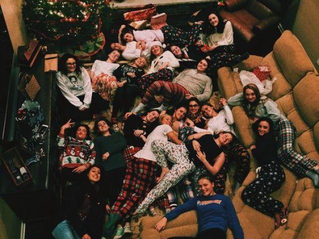 Monte sua festa do pijama perfeita
