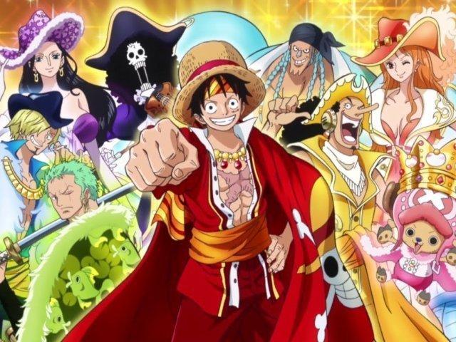 Adivinhe o personagem da Tripulação de One Piece!